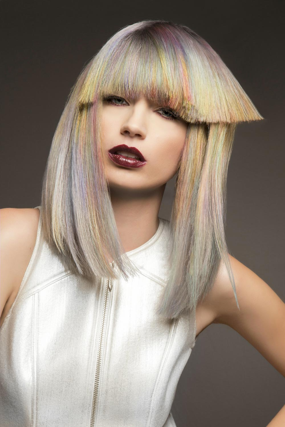 Leslie Cook, Tangles Salon, Wichita Falls, TX - Goldwell Color Zoom 2015: Creative Semi-Finalists