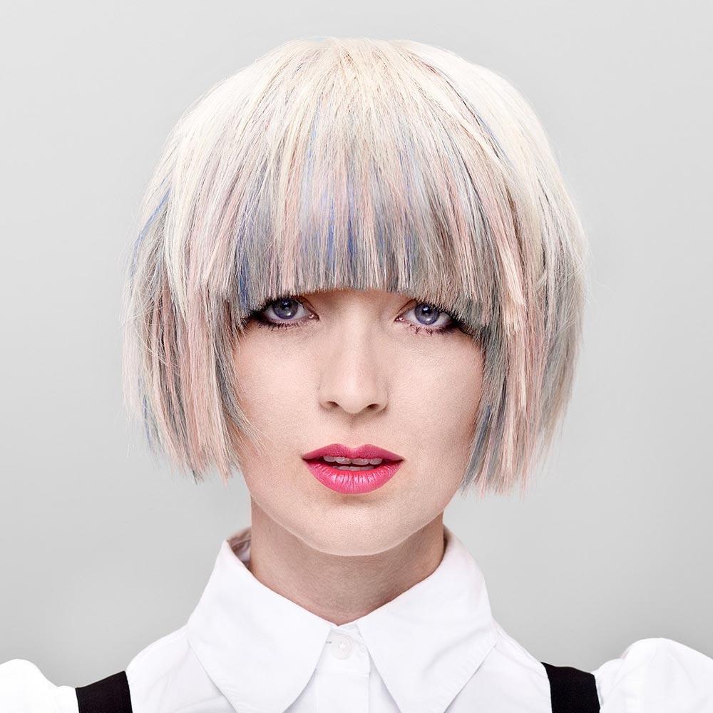 Farebné vlasy 2016 – trendy melíry budú veľmi kreatívne a súčasne harmonické. (Audrey Adrina Petrosyan, Canadian Hairstyling Awards Contessas 2012.)