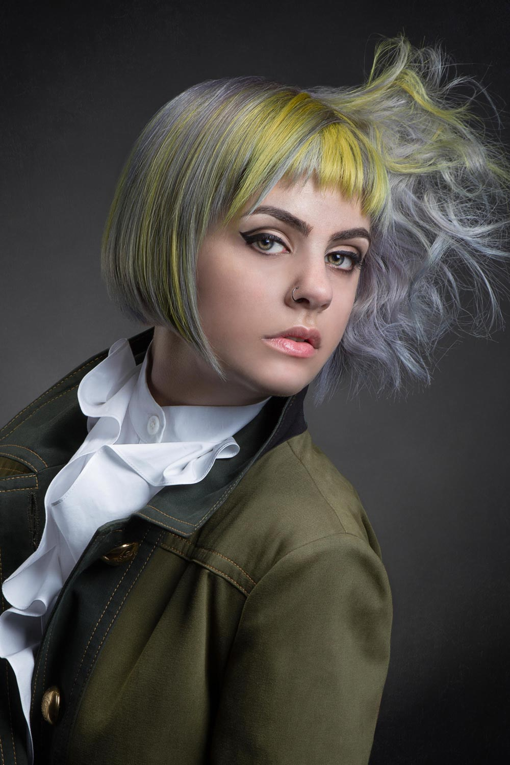 Sharie Valcin, TRIO Salon, Ltd., Chicago, IL - Goldwell Color Zoom 2015: New Talent Semi-Finalists
