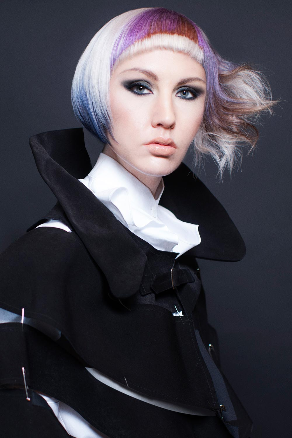 Daniel Rubin, TRIO Salon, Ltd., Chicago, IL - Goldwell Color Zoom 2015: Partner Semi-Finalists