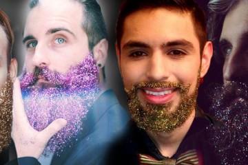 Móda hipsterov – parádna brada, ide do fázy 2.0. Nosí sa glitter beard – čiže trblietky v brade. Akú farbu trblietania si vyberiete pre svoju bradu?