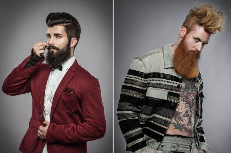 David Schwartz a jeho inšpiratívna brada 2016 – Austrian Hairdressing Awards 2015.