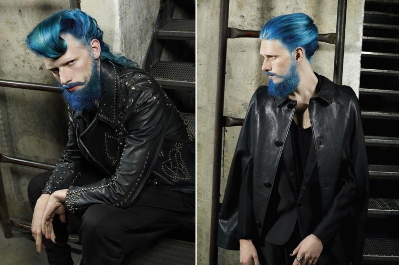 Martin Stuckler a jeho inšpiratívna brada 2016 – Austrian Hairdressing Awards 2015.