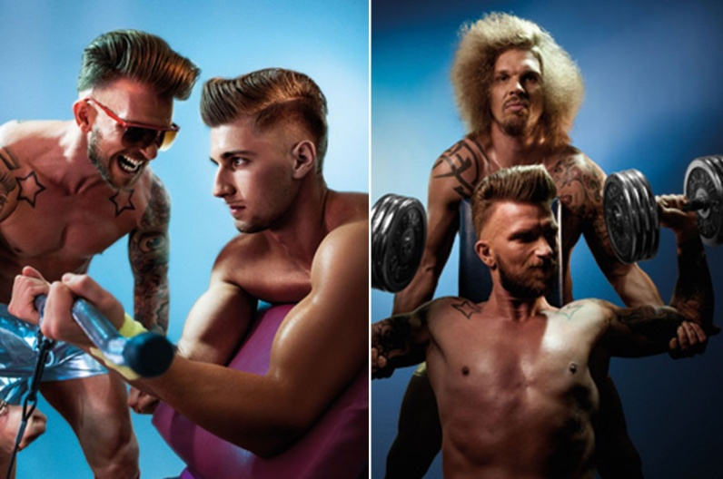 Robert Tarquini a jeho inšpiratívna brada 2016 – Austrian Hairdressing Awards 2015.