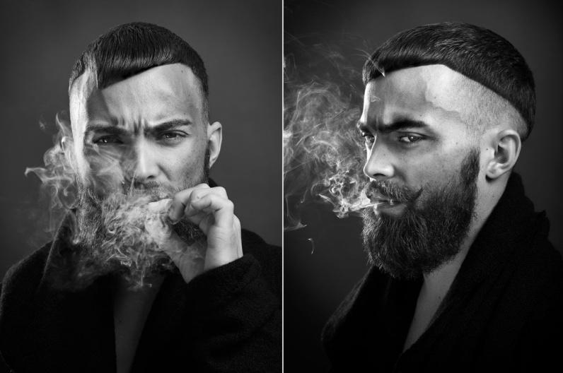 Mario Bertalanisch, účesy 2016 – Austrian Hairdressing Awards 2015.