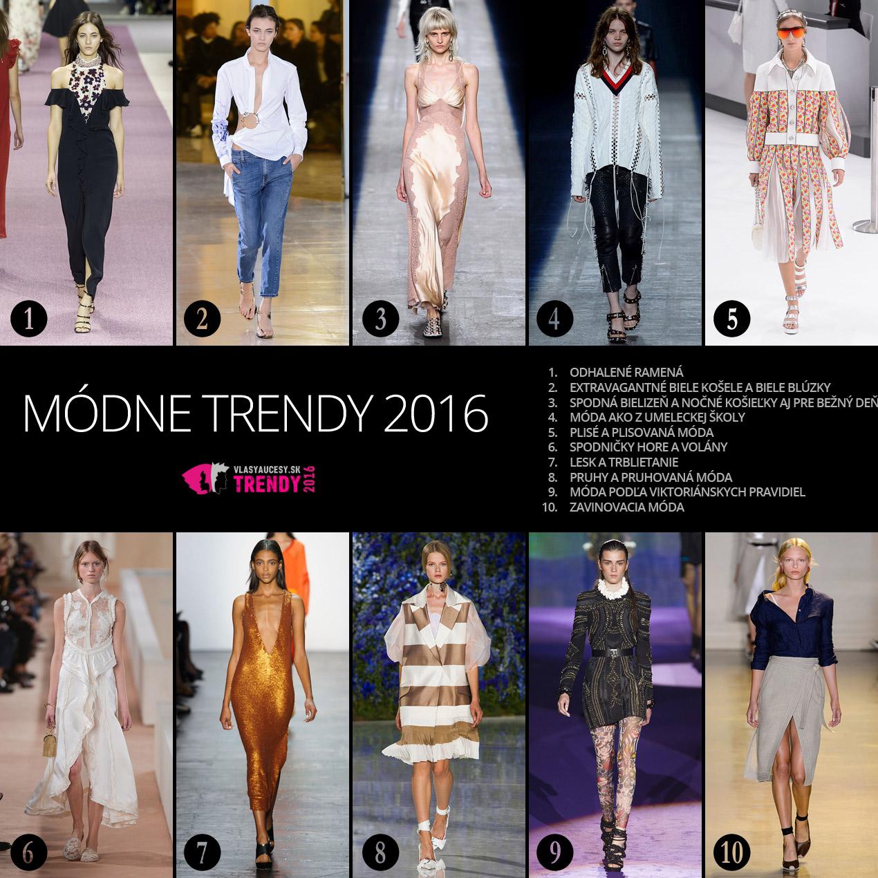 6bfbad893 Módne trendy 2016 – dámska móda 2016 a ako ju kombinovať s účesmi.