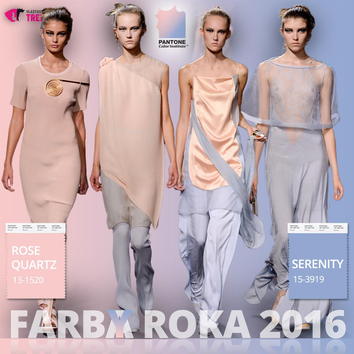 Farby roka 2016 a móda Vionnet – kolekcia jar/leto 2016.