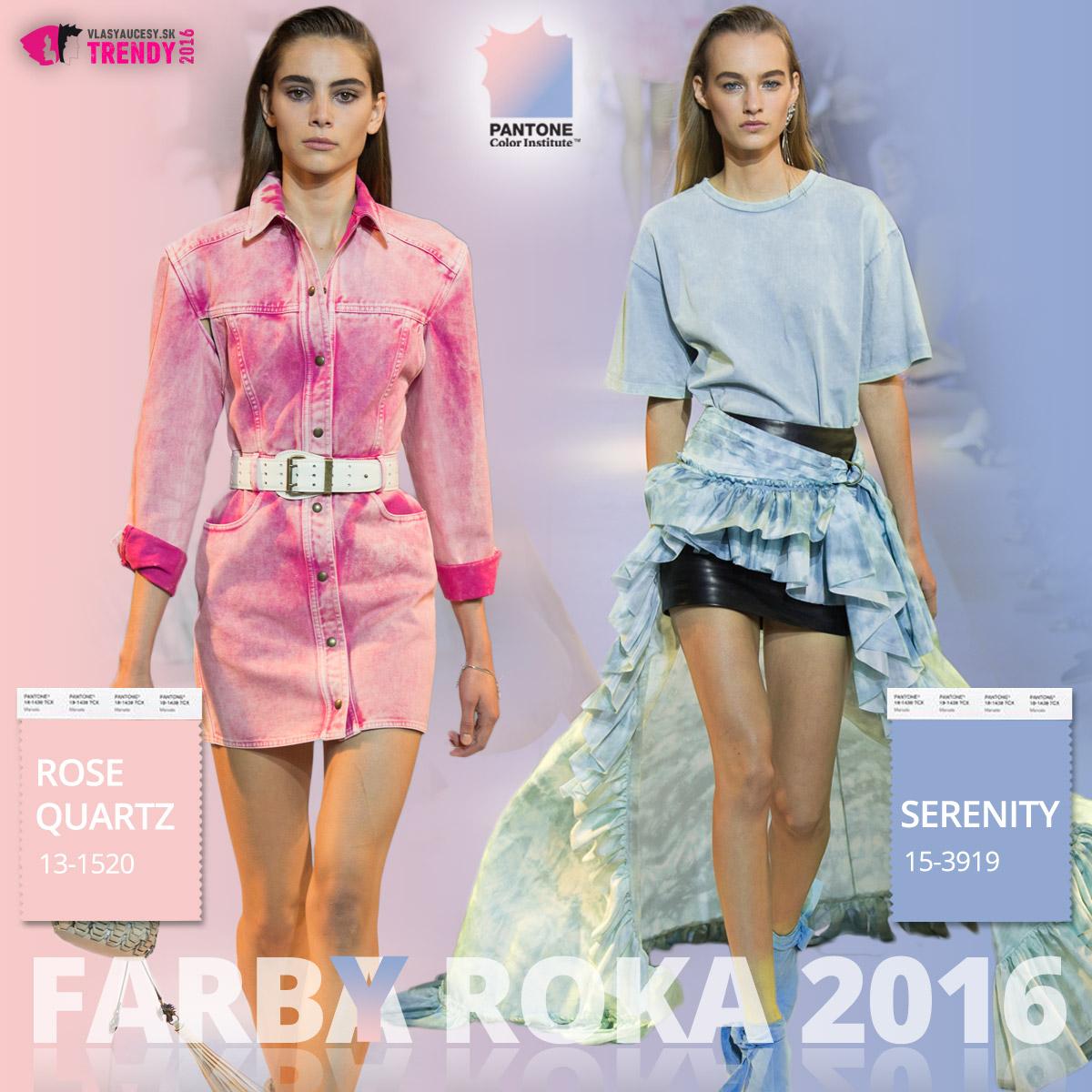 Farby roka 2016 a móda Roberto Cavalli – kolekcia jar / leto 2016.