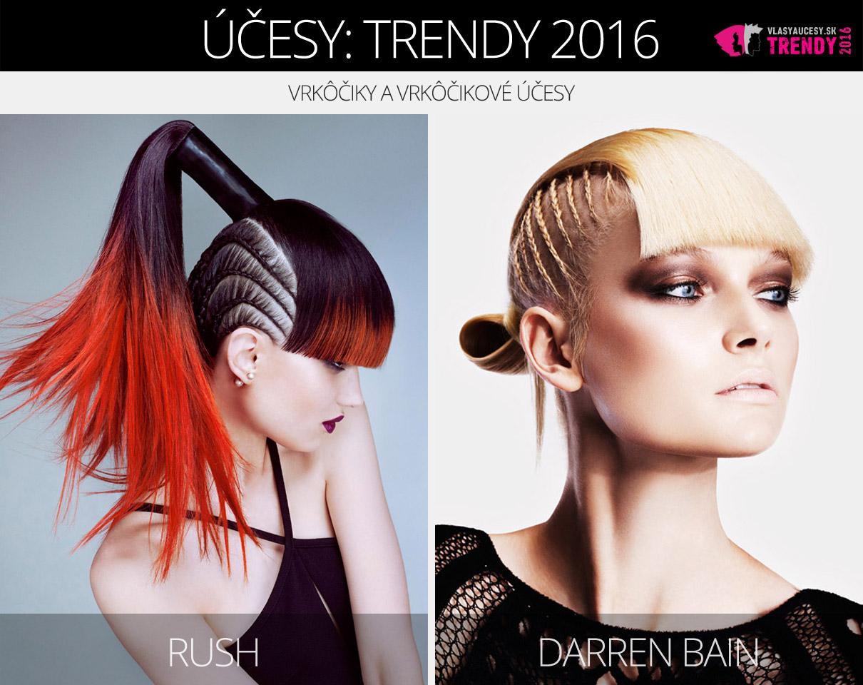 Trendy pre dámske vlasy 2016: Copánky a vrkôčikové účesy