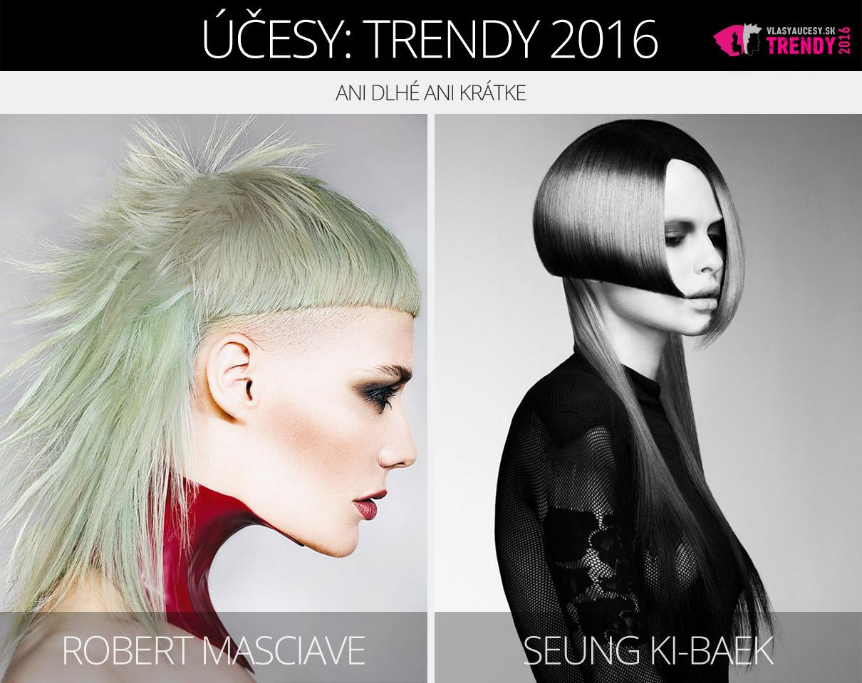Trendy pre dámske účesy 2016: Ani dlhé ani krátke