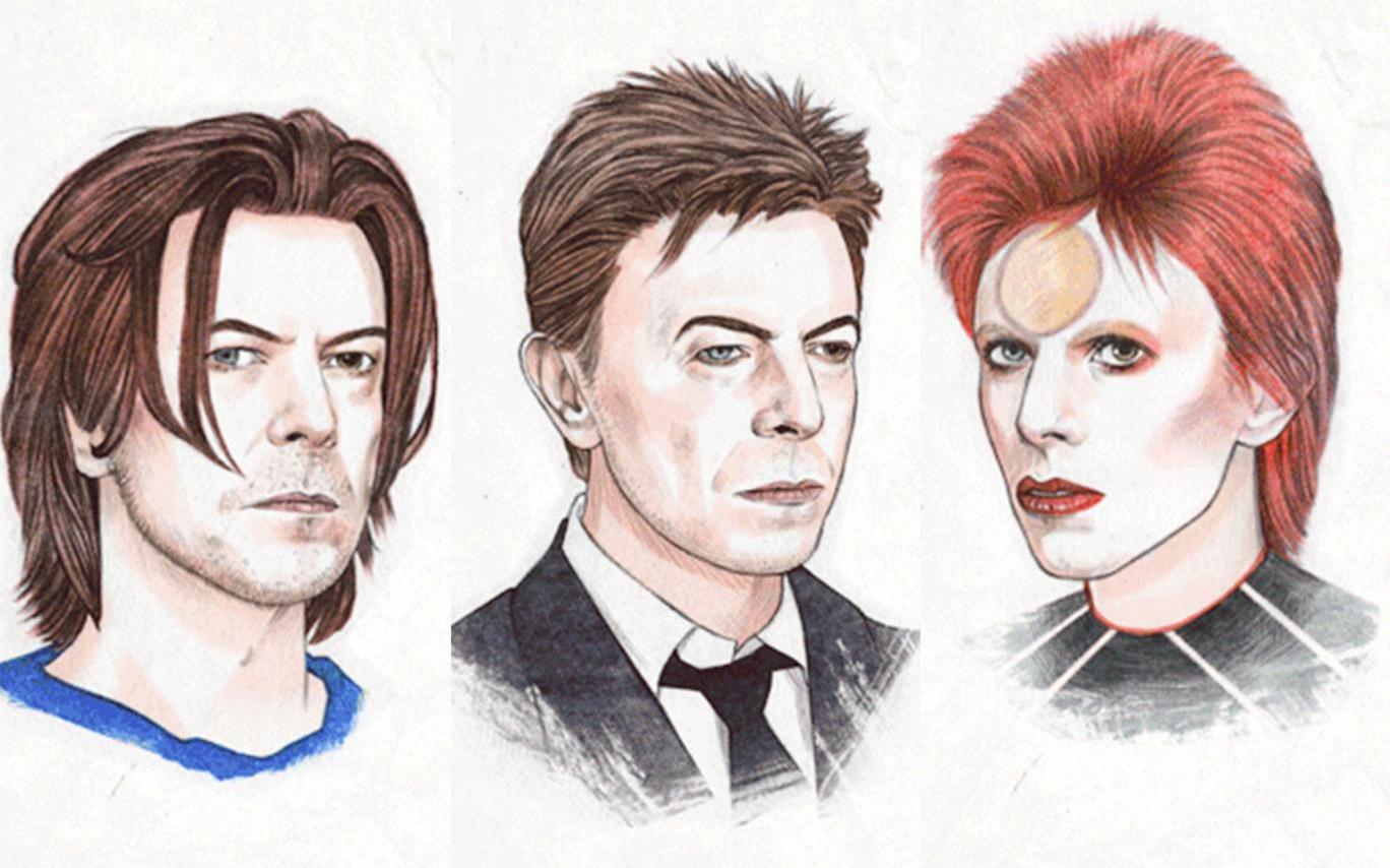 Pocta Helen Green účesom a štýlu Davida Bowie