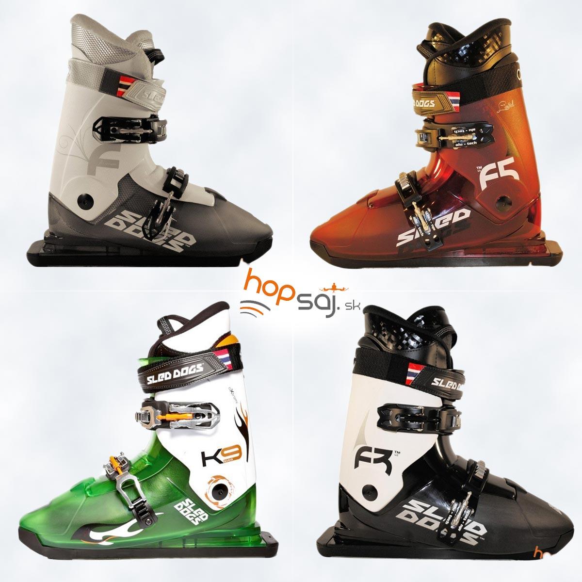 Korčule na sneh Sled Dogs Skates.