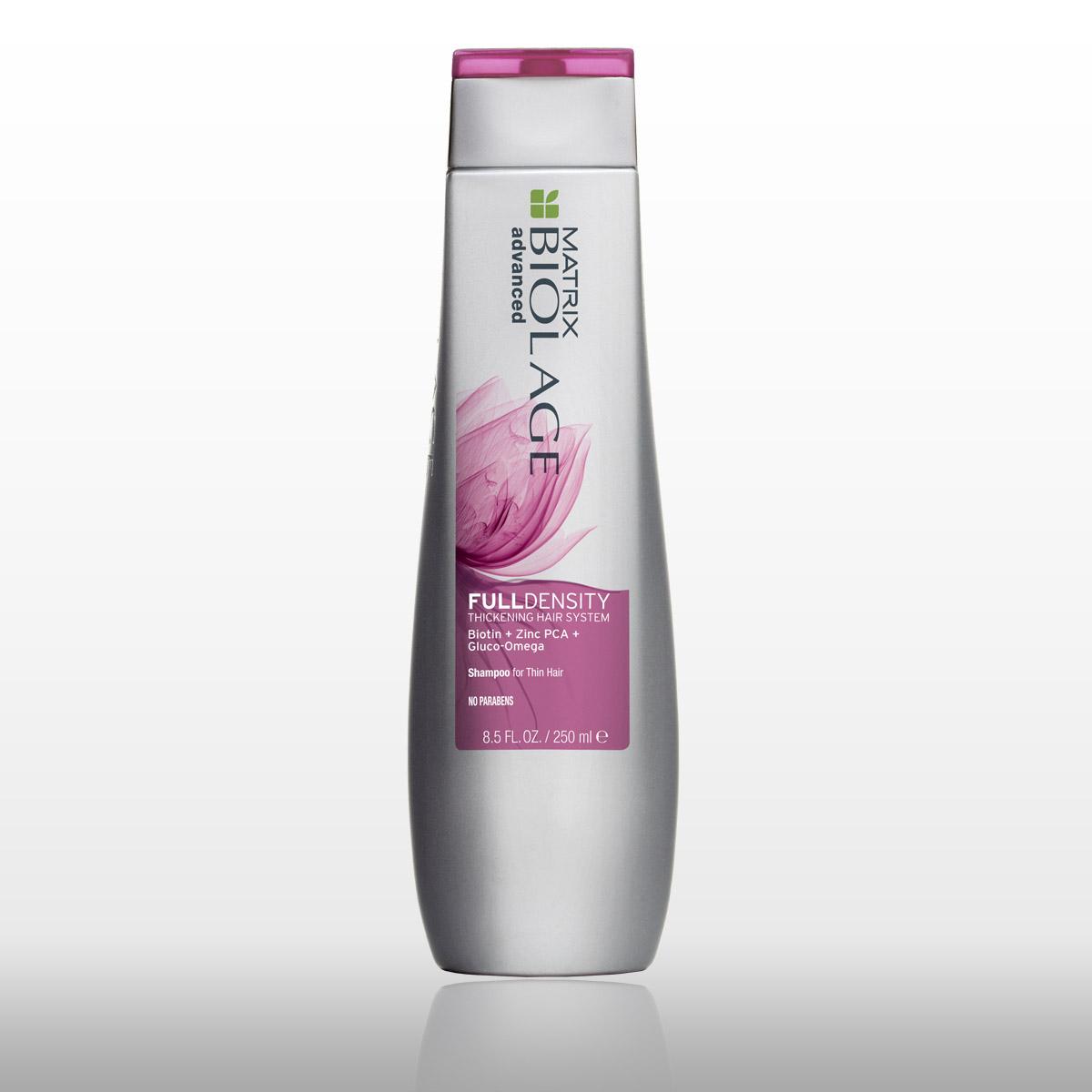 Šampón proti riedkym vlasom Fulldensity Biolage Advanced.