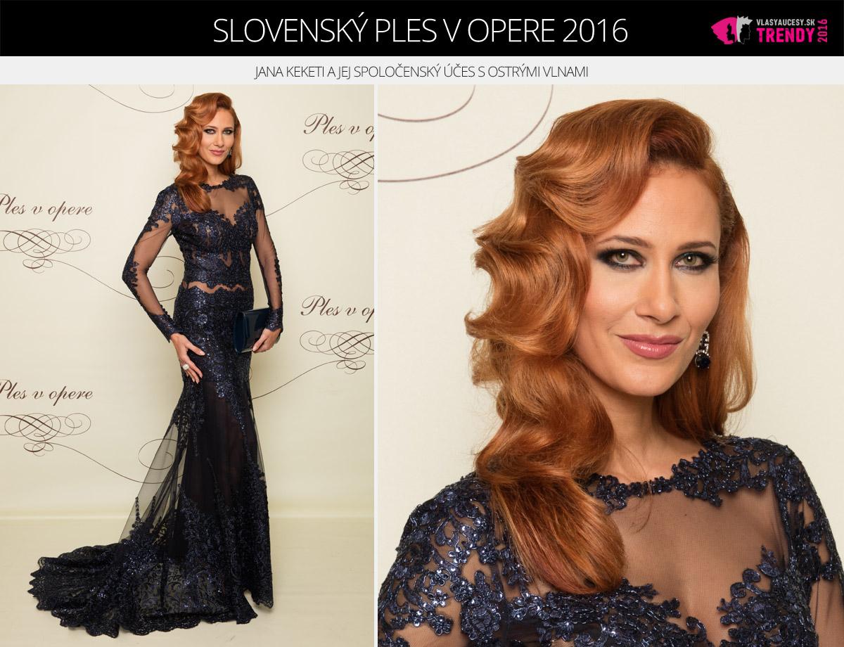 Ples v opere 2016 Bratislava – Jana Keketi.
