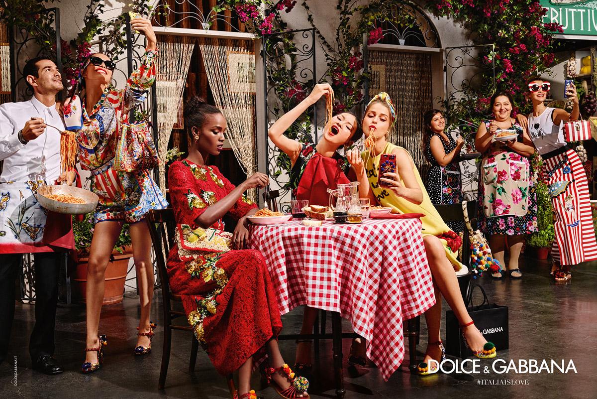 Trendy účesy 2016 v módnych kampaniach: Dolce & Gabbana, S/S 2016.