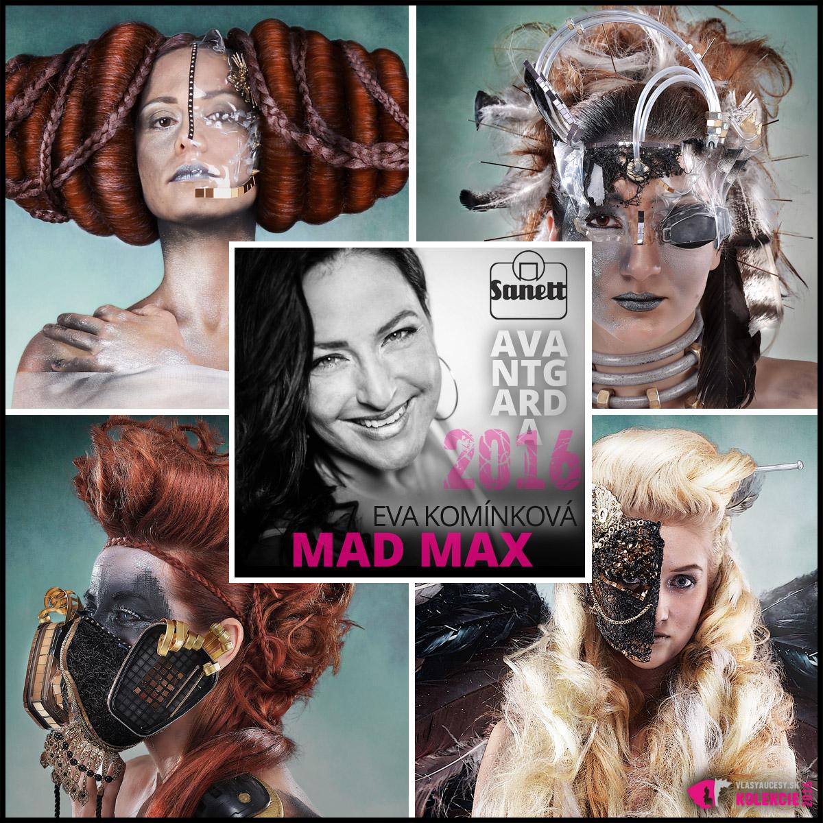 Keď sa sci-fi film premietne do fantasie schopnej hairstylistky, vznikne úžasná avantgardná kolekcia účesov. Pozrite sa, ako ju vidí Eva Komínková.