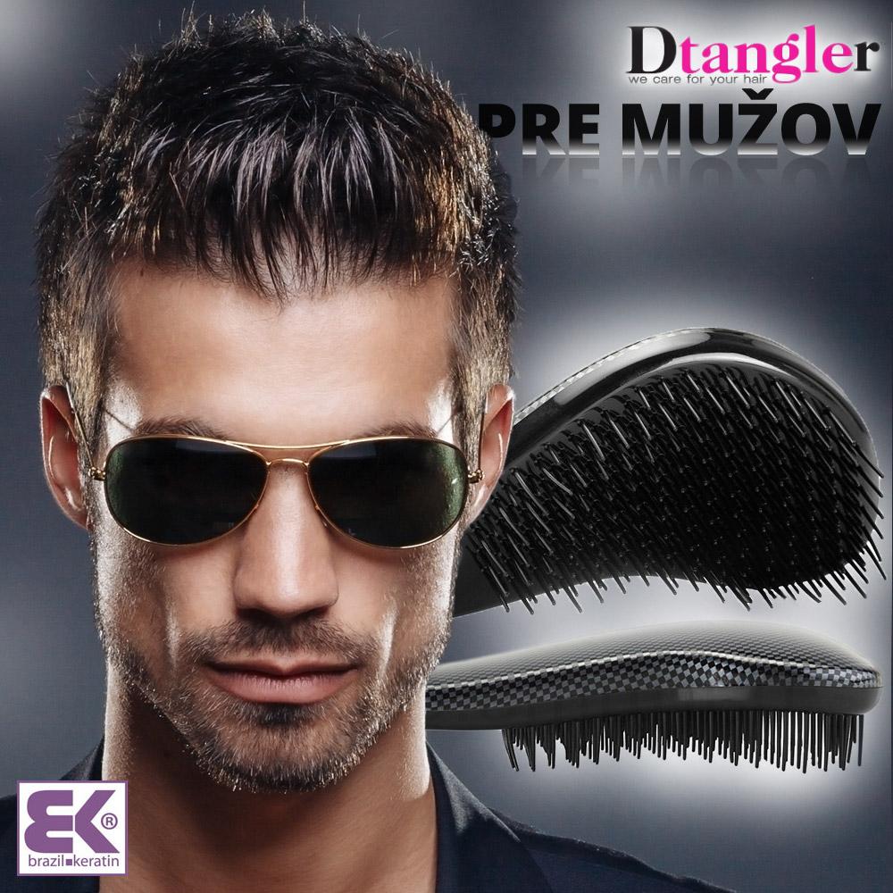 Dtangler pre mužov: Štýlový a praktický Dtangler si vyberú aj muži.