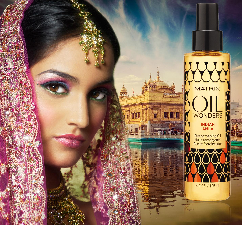 Indian amla je vlasový olej vhodný pre posilnenie vlasov.