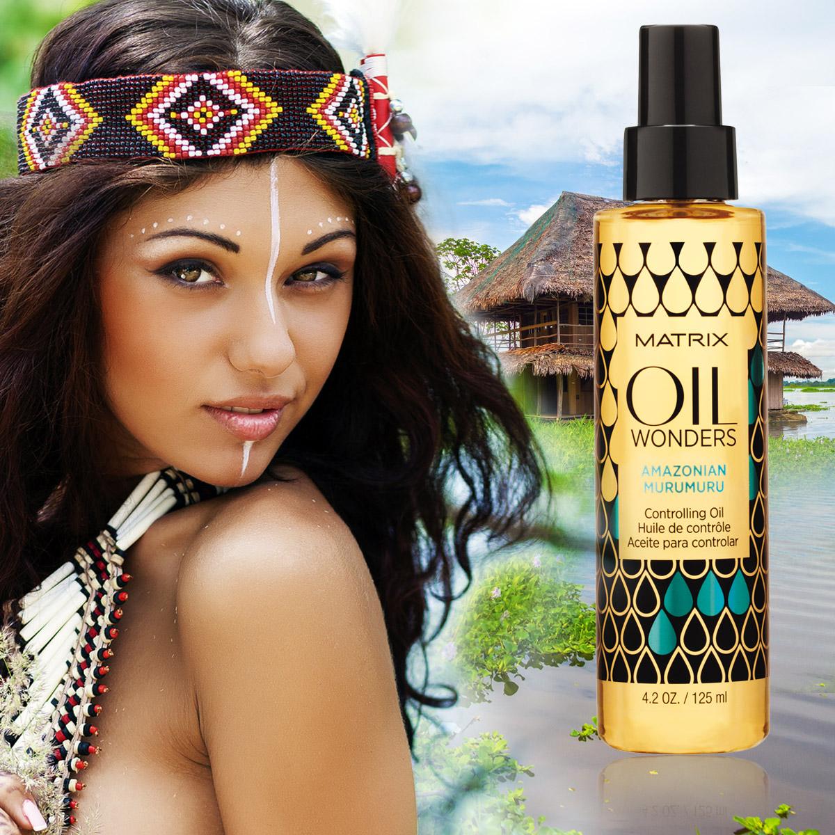 Amazonian murumuru je olej na vlasy vhodný pre uhladenie vlasov.