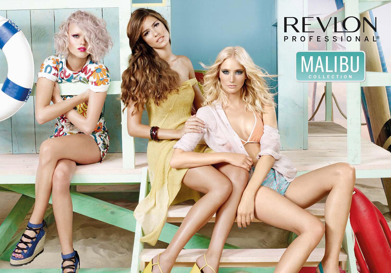 Plážové vlny á la Revlon Professional 2016 a jeho kolekcia Malibu Collection.