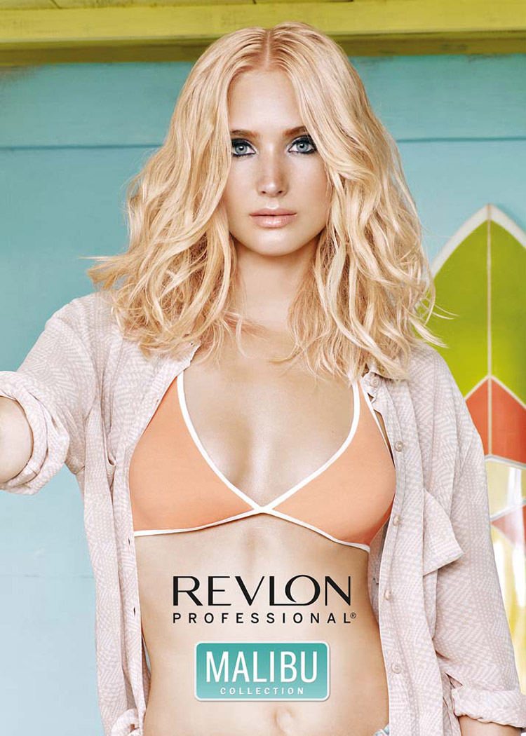 Dámske účesy 2016 podľa Revlon Professional a trend Blondré.