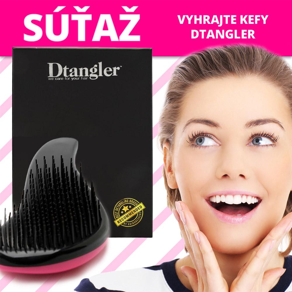 Zapojte sa do súťaže o špeciálne kefy na vlasy Dtangler.