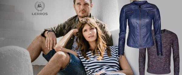 Prebuďte svoj šatník sofistikovanou značkou Lerros. Dámske a pánske oblečenie tejto značky dodá vášmu šatníku iskru bez zbytočných výstredností.