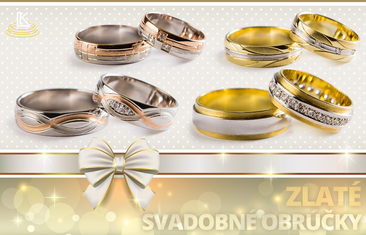 Svadobné obrúčky sú viac než módne prstene. Preto si zaslúžia omnoho väčšiu pozornosť pri výbere, než obyčajné prstene.