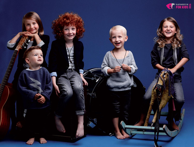 Detské účesy 2016 podľa Petry Měchurovej – detská kolekcia ORIGIN KIDS.