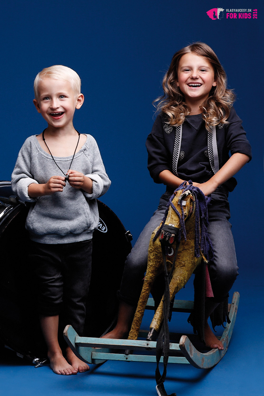 Detské účesy 2016 z kolekcie ORIGIN KIDS Petry Měchurovej.