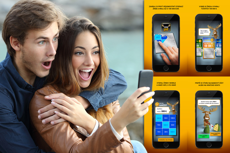 Vedomostný stierací žreb MOBILOS vám umožní vyhrať pri hre na mobilnom telefóne aj cez web.