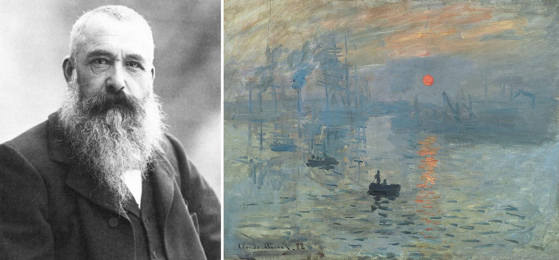 Claude Monet a jeho obraz Impresie, východ slnka