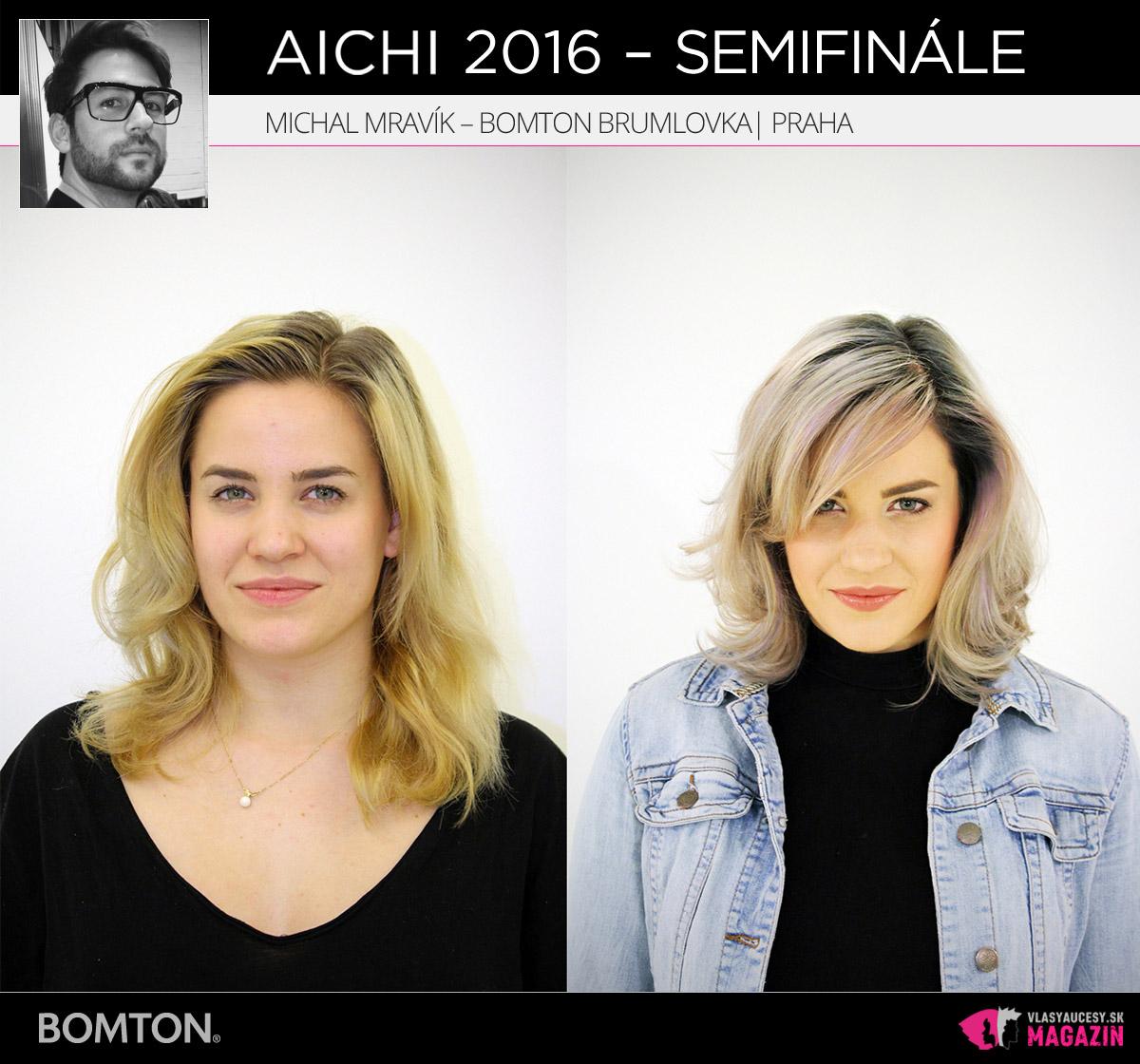 Michal Mravík – Bomton Brumlovka, Praha | Premeny AICHI 2016 – postupujúci do semifinálového kola