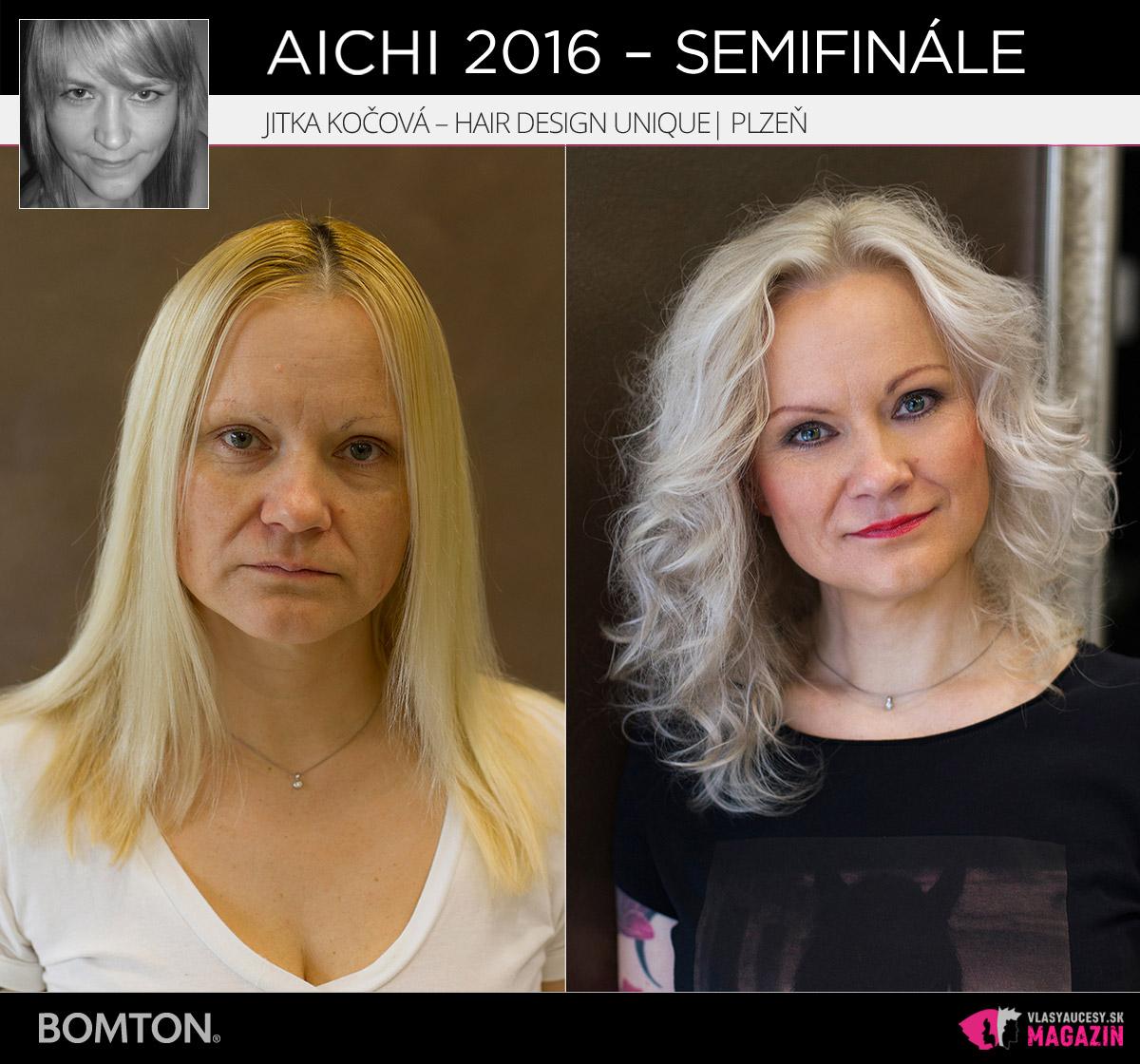 Jitka Kočová – Hair Design Unique, Plzeň | Premeny AICHI 2016 – postupujúci do semifinálového kola