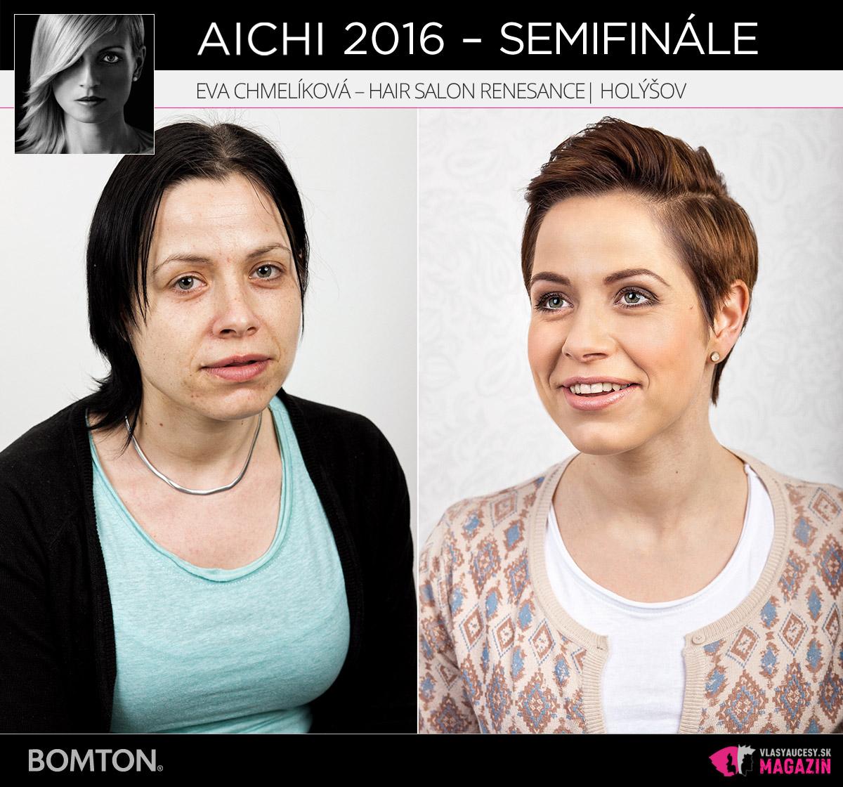 Eva Chmelíková – Hair Salon Renesance, Holýšov | Premeny AICHI 2016 – postupujúci do semifinálového kola
