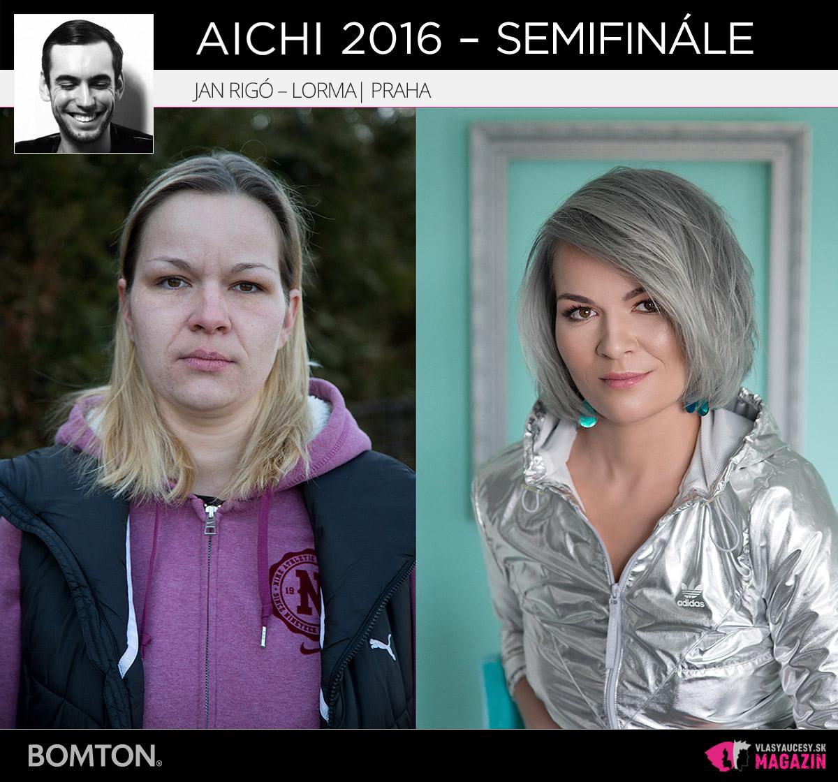 Jan Rigó – Lorma, Praha | Premeny AICHI 2016 – postupujúci do semifinálového kola