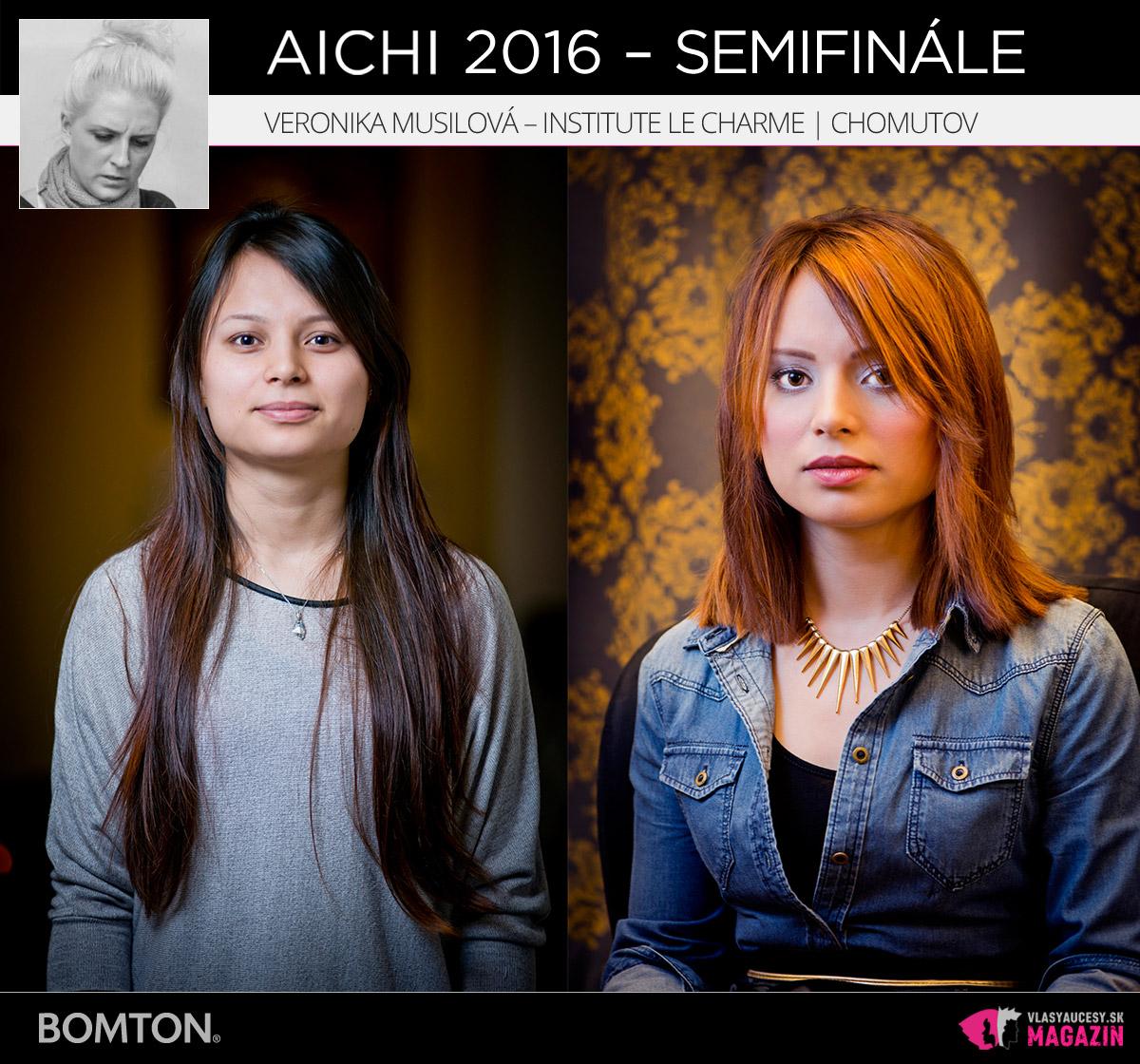 Veronika Musilová – Institute Le Charme, Chomutov | Premeny AICHI 2016 – postupujúci do semifinálového kola