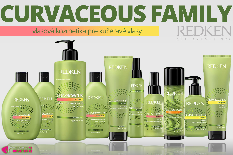 Vlasová kozmetika Curvaceous od Redken: Pripojte sa ku kučeravej rebélii!