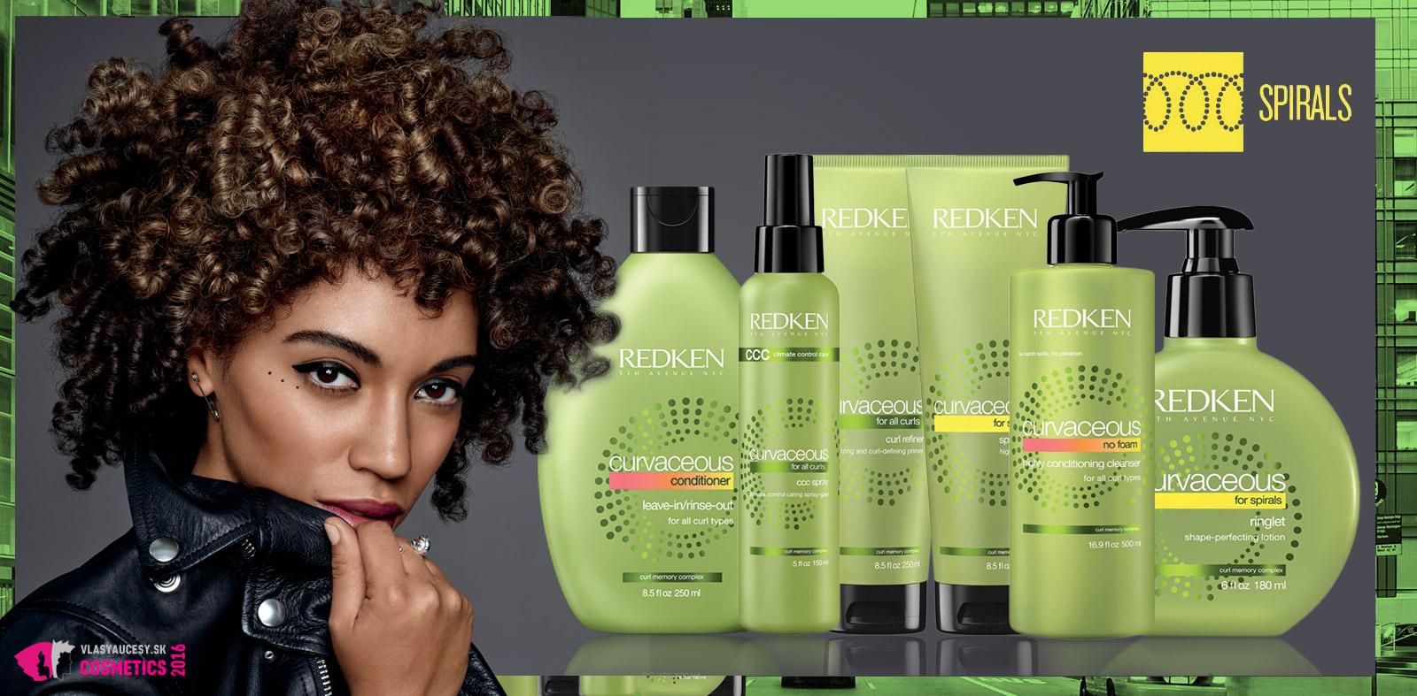 Odporúčaná vlasová kozmetika z radu Curvaceous pre špirálovité kučierky