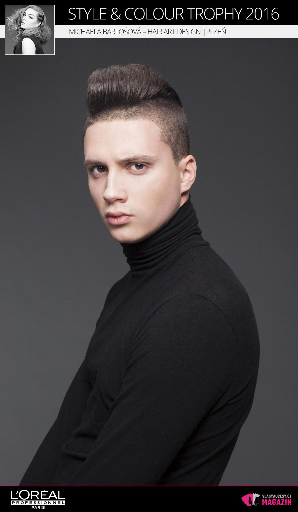 Michaela Bartošová – Hair Art Design, Plzeň   L'Oréal Style & Colour Trophy 2016