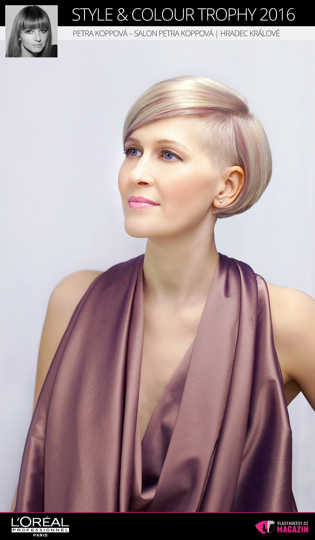 Petra Koppová – Salon Petra Koppová, Hradec Králové   L'Oréal Style & Colour Trophy 2016
