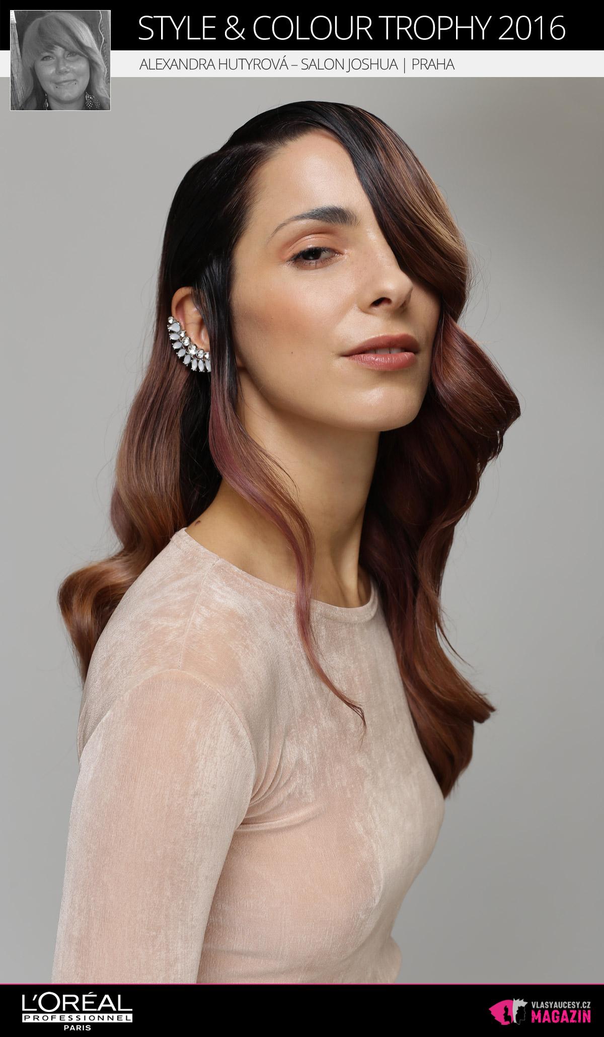 Alexandra Hutyrová – Salon Joshua, Praha   L'Oréal Style & Colour Trophy 2016