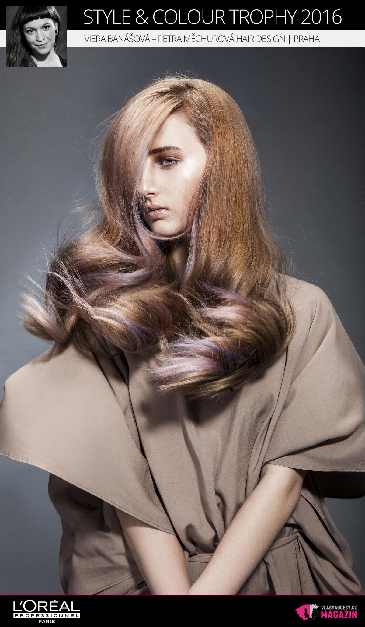 Viera Banášová – Salon Petra Měchurová, Praha   L'Oréal Style & Colour Trophy 2016