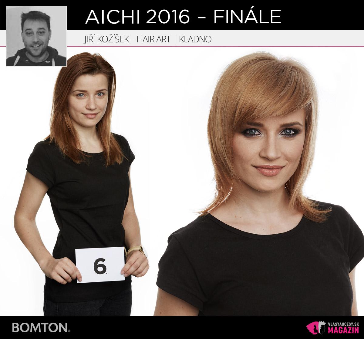 Jiří Kožíšek – Hair Art Jiří Kožíšek, Kladno | Premeny AICHI 2016 – postupujúci do finálového kola