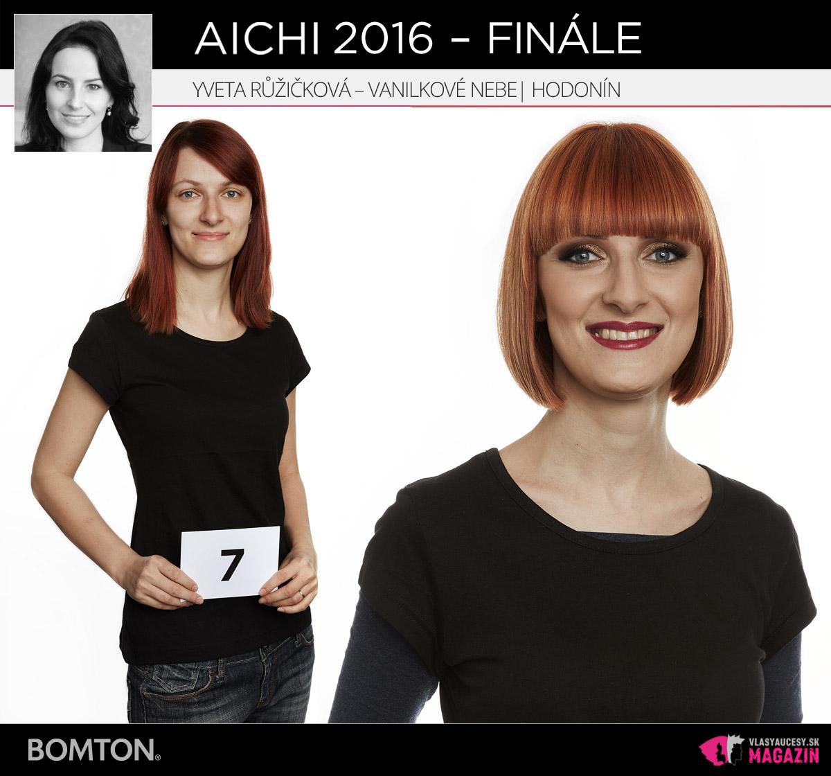 Yveta Růžičková – Vanilkové Nebe, Hodonín | Premeny AICHI 2016 – postupujúci do finálového kola