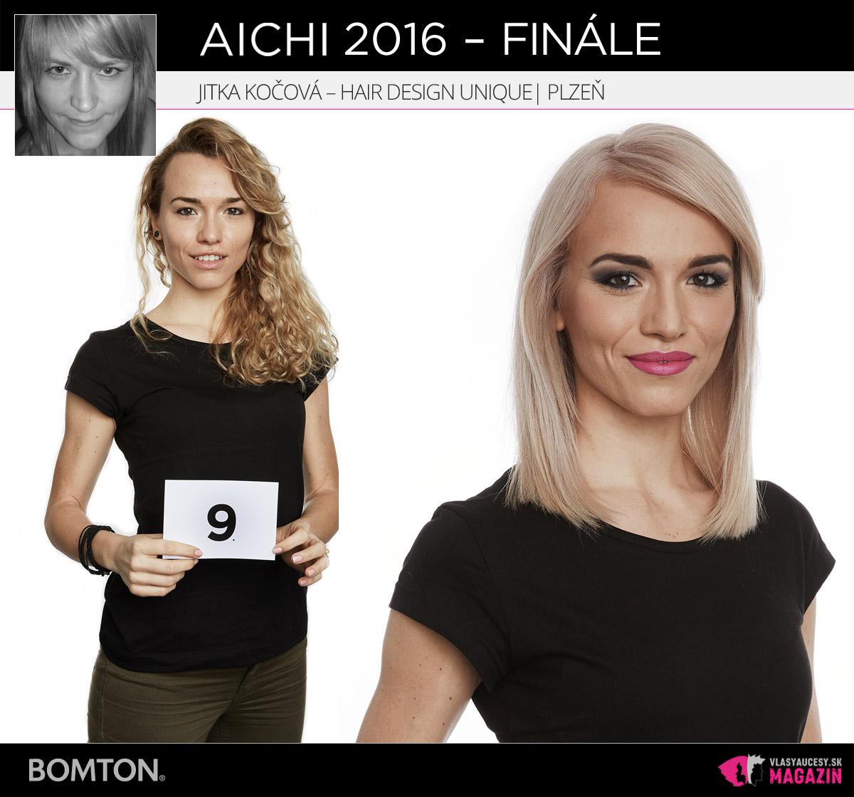Jitka Kočová – Hair Design Unique, Plzeň | Premeny AICHI 2016 – postupujúci do finálového kola