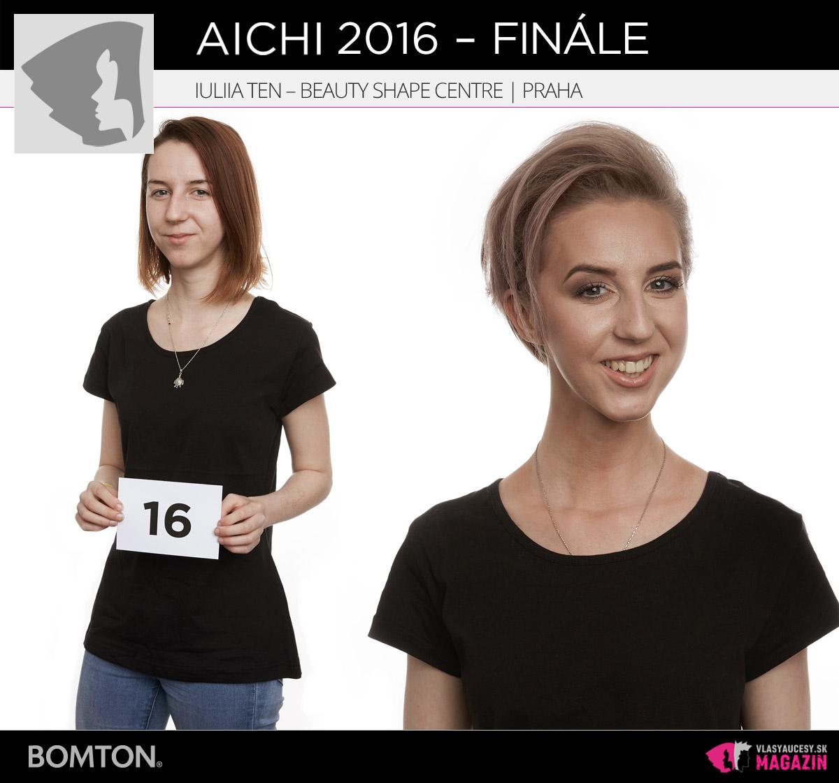 Iuliia Ten – Beauty Shape Centre, Praha | Premeny AICHI 2016 – postupujúci do finálového kola