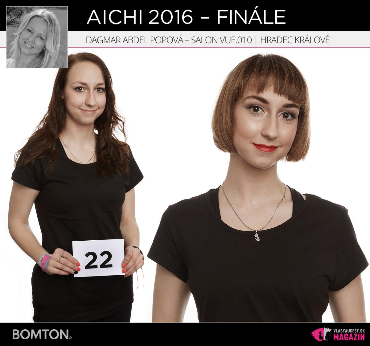 Dagmar Abdel Popová – Salon VUE.010, Hradec Králové | Premeny AICHI 2016 – postupujúci do finálového kola