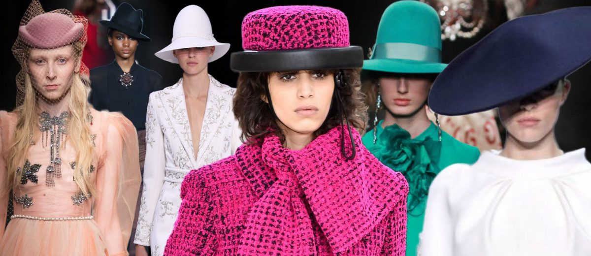 Aké dámske klobúky jeseň / zima 2016/2017 odporúčajú módny návrhári? Móda prináša do dámskeho šatníkov eleganciu, pánsky štýl aj extravaganciu.