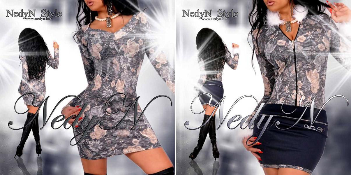 Zimná elegancia – to sú dámske šaty značky NedyN Style. Modely kúpite v e-shope FashionMafia.sk.
